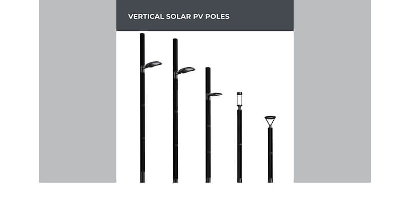 LIGMAN Vertical Solar Panel Lighting Poles 02