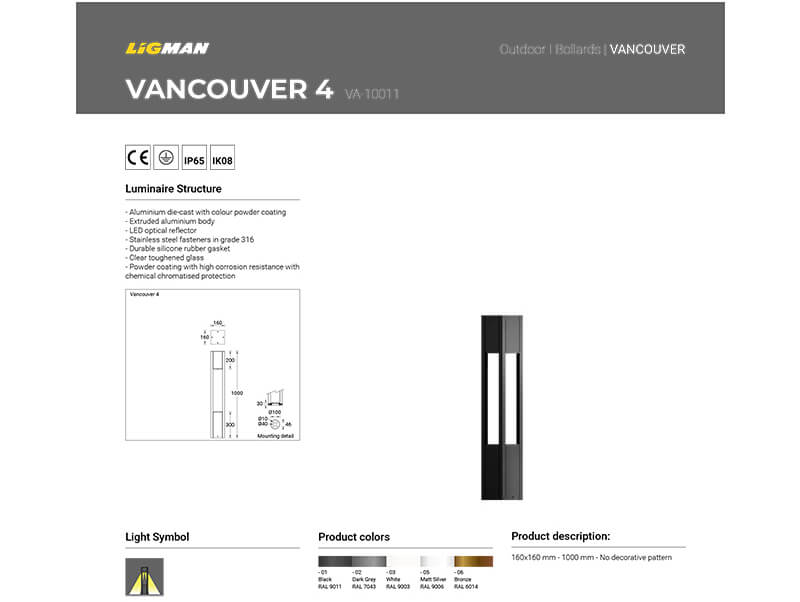 LIGMAN Vertical Solar Panel Lighting Poles 04-1