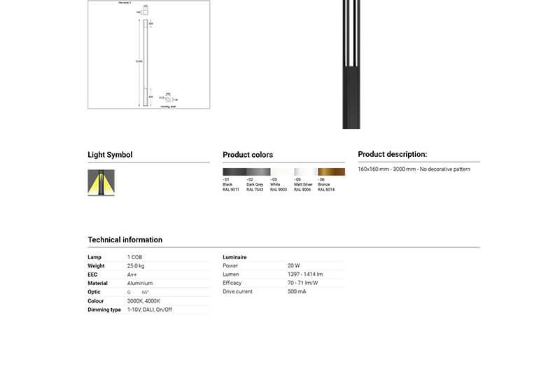 LIGMAN Vertical Solar Panel Lighting Poles 06-1