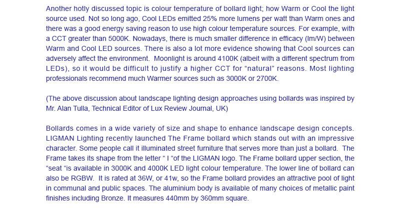 LIGMAN Vertical Solar Panel Lighting Poles